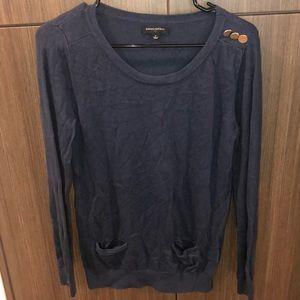 Navy Blue thin sweater